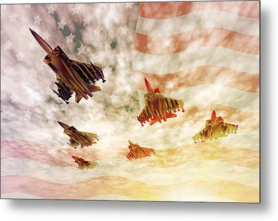 Independence Day Metal Print by Carol and Mike Werner