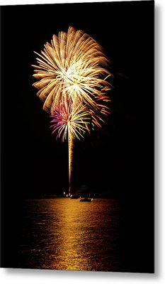 Independence Day Metal Print by George Buxbaum