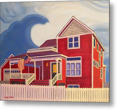 Independence Day Metal Print by Ruth Soller