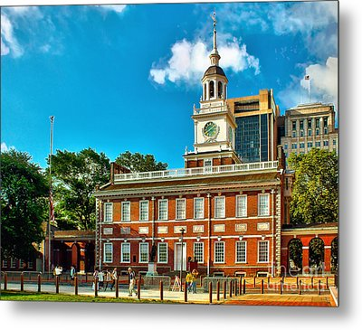 Independence Hall Metal Print
