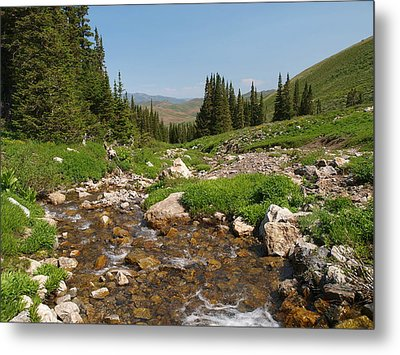 Metal Print featuring the photograph Independence Range by Jenessa Rahn