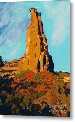 Independence Rock Metal Print by Craig Nelson