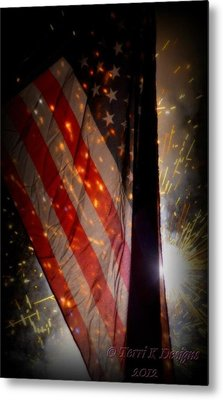 Independence Metal Print by Terri K Designs