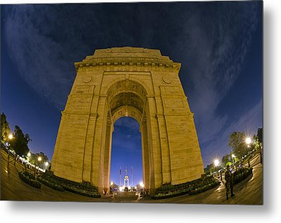 India Gate Metal Print by Aaron Bedell
