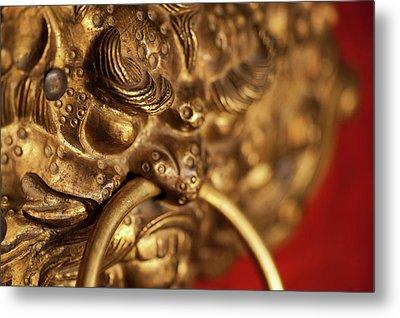 India, Ladakh, Likir, Close-up Metal Print by Anthony Asael