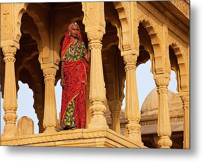 India, Rajasthan, Jaiselmer Metal Print by Jaynes Gallery