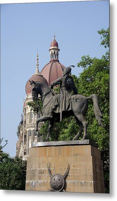 India, State Of Maharashtra, Mumbai Metal Print