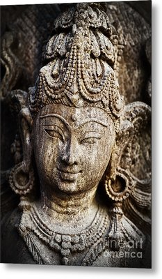 Indian Goddess Metal Print by Tim Gainey