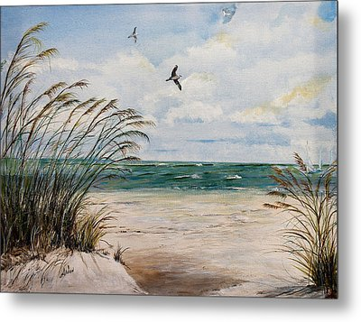 Indian Rocks Beach  Metal Print