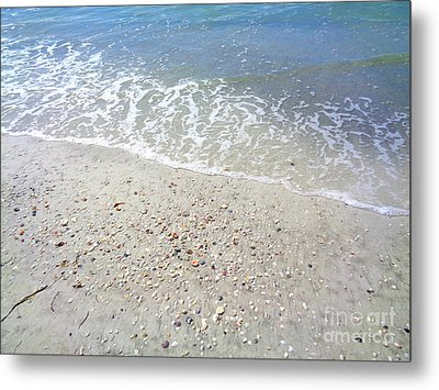 Indian Rocks Shoreline Metal Print by Jeanne Forsythe