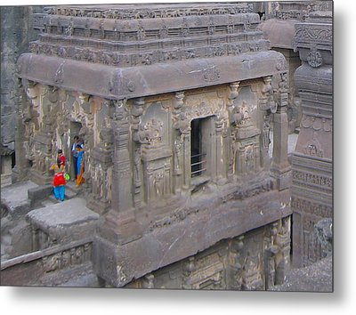 Metal Print featuring the photograph Indian Ruin by Russell Smidt