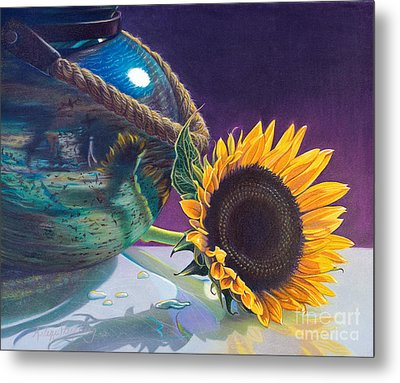Indian Summer Metal Print by Arlene Steinberg