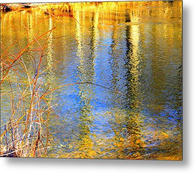 Indian Summer Metal Print by Mary Beth Landis