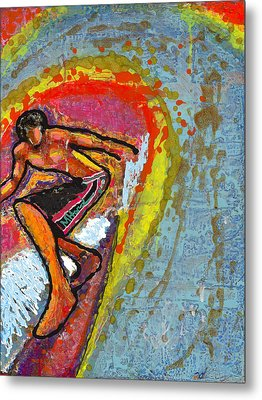 Indian Summer Metal Print by Mike Harder