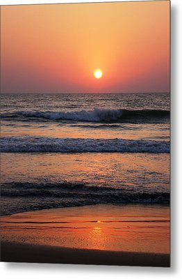 Indian Sunset Metal Print by Ilse Maria Gibson
