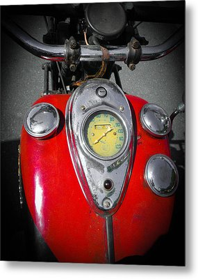 Indian Tank Metal Print by Christy Usilton