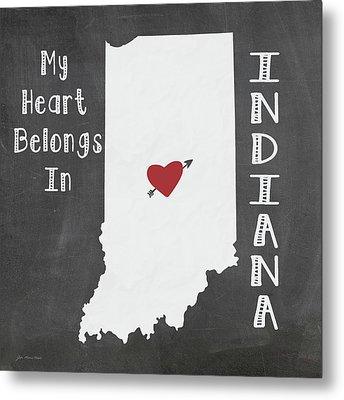 Indiana Metal Print by Jo Moulton