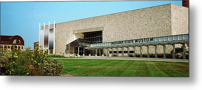 Indiana State Museum, White River State Metal Print by Panoramic Images