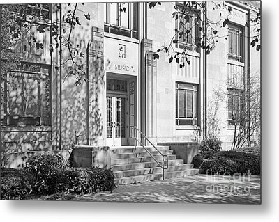 Indiana University Merrill Building Entrance Metal Print by University Icons