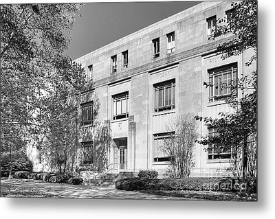 Indiana University Merrill Music Building Metal Print by University Icons