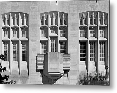 Indiana University Myers Hall Metal Print by University Icons