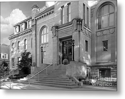 Indiana University Student Building Entrance Metal Print by University Icons