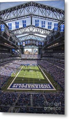 Indianapolis Colts 2 Metal Print by David Haskett
