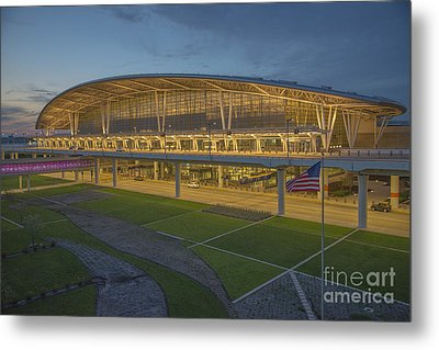 Indianapolis International Airport Metal Print by David Haskett