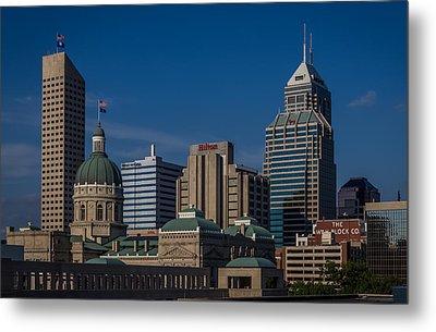Indianapolis Skyscrapers Metal Print