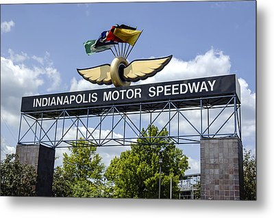 Indianapolis Speedway Metal Print by Chris Smith