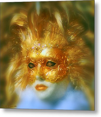 Indoor Carnival. Metal Print by Tautvydas Davainis