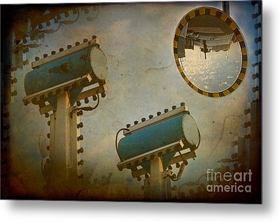 Industrial Accolades Metal Print by The Stone Age