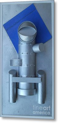 Industrial Artefact Metal Print by Roy Isaacs