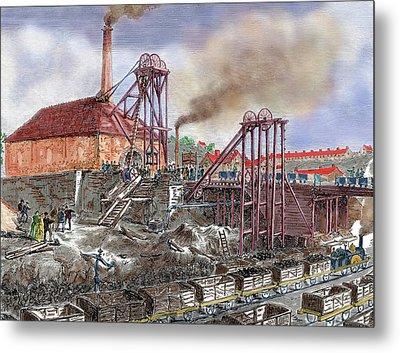 Industrial Revolution Metal Print by Prisma Archivo