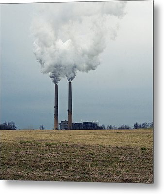 Industry Metal Print by Steven Michael