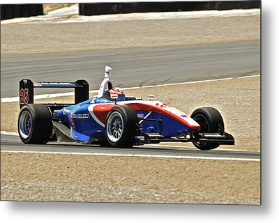 Indy Red White And Blue Metal Print by Dave Koontz