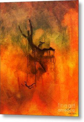 Inferno Metal Print by Pedro L Gili