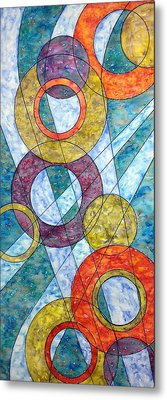 Metal Print featuring the painting Infinite Loop by Rebecca Davis