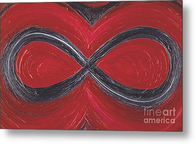 Infinite Love By Jrr Metal Print