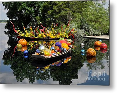 Metal Print featuring the photograph Infinity Boats by Cheryl McClure