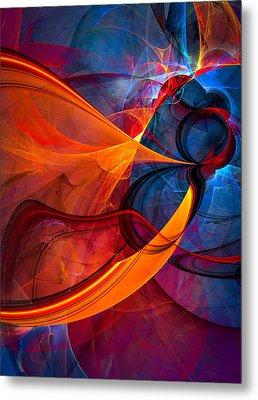 Infinity - Abstract Art Metal Print