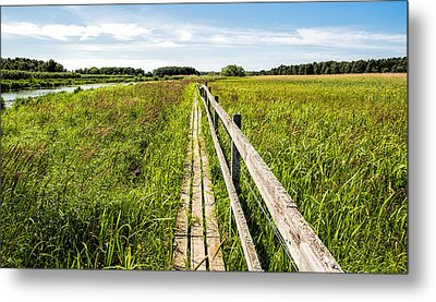 Metal Print featuring the photograph Infinity Way by Leif Sohlman