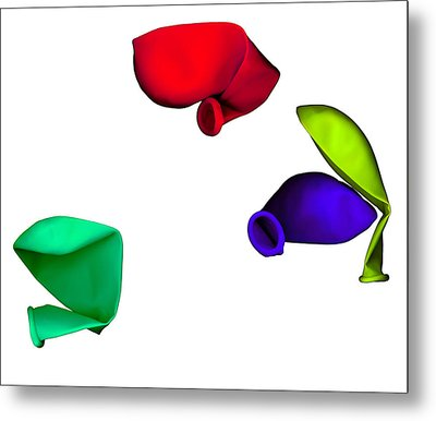 Inflated Idea 1 Metal Print