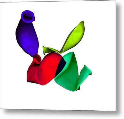 Inflated Idea 2 Metal Print