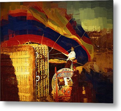 Metal Print featuring the digital art Inflating by Kirt Tisdale