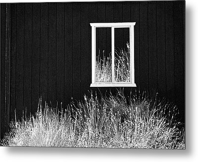 Infrared Barn Metal Print by Sharon Beth