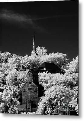 Infrared Stillwater Metal Print