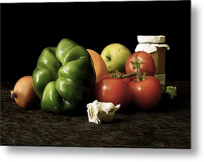 Metal Print featuring the photograph Ingredients by Elf Evans