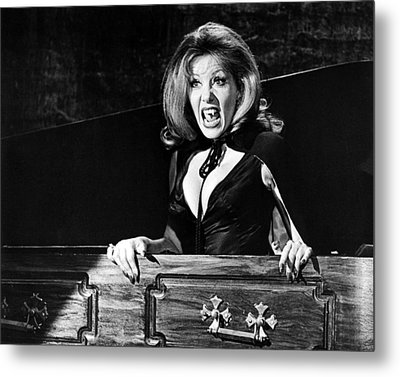Ingrid Pitt In The House That Dripped Blood  Metal Print by Silver Screen