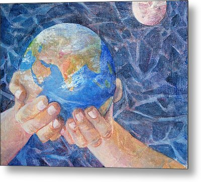 Inherit The Earth Metal Print by Arlissa Vaughn